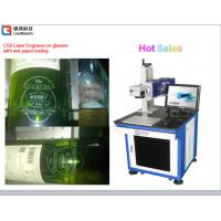 Quality High Speed CO2 Laser Marking Machine Semiconductor Laser Marker Wooden Printing for sale