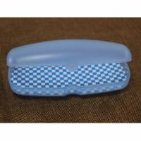 Buy Customised Reading Eyeglass Cases 156 * 61 * 44mm ABS Plastic Spectacle Cases at wholesale prices