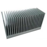 Quality Fluorocarbon Powder Spray Coated Aluminum Extrusion Heatsink For Aluminum Radiator for sale