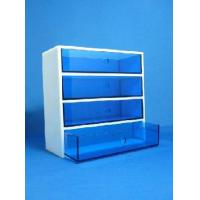 Quality High Quality Acrylic 4 Drawer Organizer With Beautiful Shape for sale