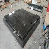 China Large Granite Slabs For Tombstone Low Radiation Stone Material on sale