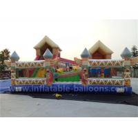Quality 6m x 4m Inflatable Bouncy Castle 0.55mm PVC Tarpaulin Inflatable Bouncer Toy For Kids for sale