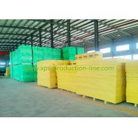 Quality Yellow X700 Extruded Polystyrene Foam Sheets for Highspeed Railway for sale