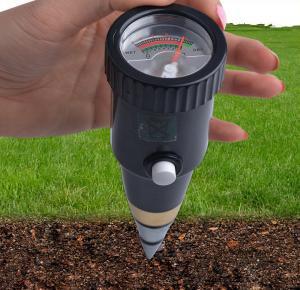 Buy cheap hot sales handheld DIgital pointer display soil moisture PH meter PH range 3~8ph, moister range 10~80%RH from wholesalers