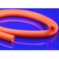 Quality Grey Antioxidant Heat Resistant Silicone Foam Tube Vulcanization Extrusion for sale