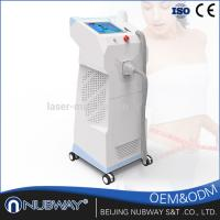 Quality 1800w laser depilation / 808nm Diode Laser hair removal / painless Laser machine from from beijing NUBWAY for sale
