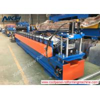 China CE Stud And Track Roll Forming Machine , Metal Stud Roll Forming Machine For Top Hat Purlin on sale