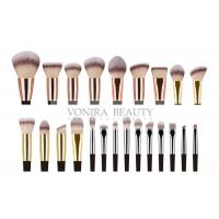 Quality 23 Pieces Synthetic Private Label Makeup Brushes / Handmade Makeup Brushes for sale