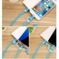 Quality Black Gold USB Data Transfer Cable Dust Proof Double Sided Fast Charging for sale