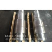 Quality Open Die Forged Alloy Steel Carbon Steel Shaft / Forging Products for sale