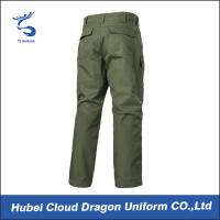 Quality Wholesale Army Green Combat Pants / Mens Lightweight Cargo Pants For All Season for sale