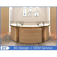 Quality Luxury 3D Design Jewellery Showcases / Glass Jewellery Display Cabinets for sale
