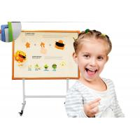 Quality 10-32points multitouch infrared active board with floor standing interactive electronic infrared whiteboard for sale
