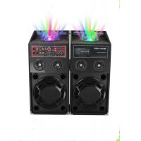 Quality 120 Watt Portable Disco Light Bluetooth Speaker Active PA System For Stage Performance for sale