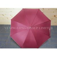 Buy cheap Plain Red Hook Handle Umbrella , Stormproof Custom Imprinted Umbrellas from wholesalers