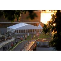 Quality Custom Made Temporary Large Wedding Tents Event Canopy Tent With Glass Wall for sale