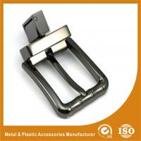 China Zinc Alloy Reversible Western Belt Buckles For MenTwo Colors Plating RE-004 on sale