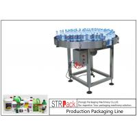 Quality Chemicals Bottle Packing Machine Line Rolling Type Manual Catonning Packing Conveyor for sale