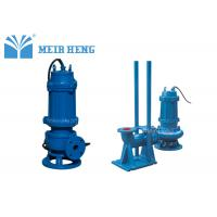 Quality Non - Clogging Submersible Sewage Pump / Electric Centrifugal Fluid Transfer Pump for sale