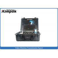 Buy 4 Channels Digital COFDM Receiver Box Wireless LCD Recorder 17 Inch at wholesale prices