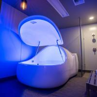 Quality healthy physical therapy relax your body floating spa bath pod samadhi tank floating pods for sale