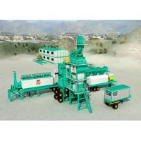 Buy High Pressure Atomizing Burner Mobile Asphalt Plant With 25t / H WAM Screw at wholesale prices