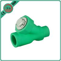 Quality Eco Friendly Water Filter Pipe Fittings , Durable PPR Straight Ball Valve for sale
