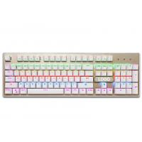 Quality Customized ergonomic keyboard for gaming , green led mechanical keyboard for sale
