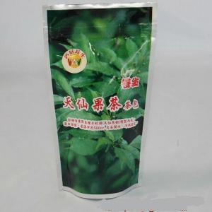 Quality tea bag Standup plastic bag with logo and full color printing for sale