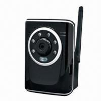 Quality Cube Type H.264 Megapixel Wired/Wireless IP Camera with 1.3-megapixel CMOS Sensor for sale