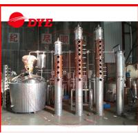 Quality Rum / Gin Red Copper Distillation Column For Fruitful Flavor / Spices for sale