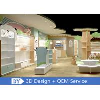 Quality Lovely Kids Clothing Store display Furniture With Led Lighting Easy Install Dis - Assembly for sale