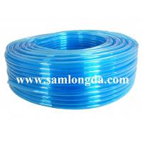 Buy cheap TPU air hose for pneumatic robot, clear blue color, 95A hardness from wholesalers