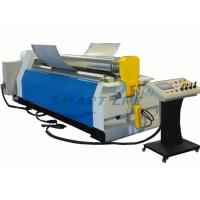 Automatic Electronic Plate Bending Rolling Machine , Sheet Metal Cone Rolling Machine