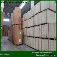 50-70g Light Weight Coated Art Paper for sale