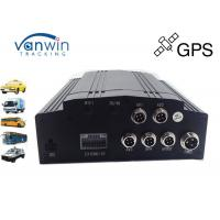 Quality Anti knock 4 Channel GPS Mobile DVR 1TB Storage Basic for Bus and Taxi for sale