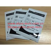 Quality ATM Machine ATM spare parts ATM Encoded Cleaning Card for sale