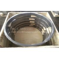 Quality 10CrMo9-10 1.7380 DIN 17243 Alloy Steel Forged Rings Quenced And Tempered Heat Treatment  Proof Machined for sale