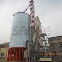 Quality Galvanized steel silo assembly with Hot galvanized sheet metal use for store grain for sale