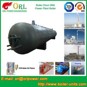 Buy Stainless Steel Boiler Mud Drum , Boiler Steam Drum SGS High Efficiency at wholesale prices