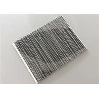 Quality Multi Function Black Pvc Wall Panels With Silver OEM / ODM Available for sale