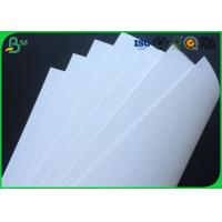 Quality 40g , 45g , 50g , 55g , 60g , 80g , 100g , 120g , 130g  White Kraft Paper Or Roll for sale