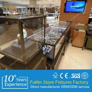 Quality acrylic jewelry display showcase for sale