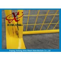 Quality Easy Install Temporary Construction Fence Panels For Sports Field XLF-10 for sale