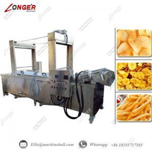 Continuous Banana Chips Frying Machine|Banana Chips Frying Machine|Automatic Banana Frying Machine|Frying Machine