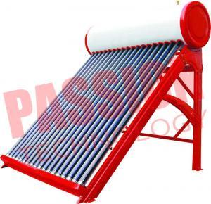 Quality Portable Non Pressurized Solar Water Heater Non Pressurized Vacuum Tube 200L for sale