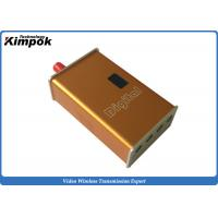 Buy Lightweight RF CCTV Wireless Video Sender 1.2Ghz Video Audio Wireless Camera Sender 4 Channels at wholesale prices