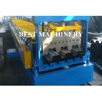 Quality Galvanized Steel Floor Deck Roll Forming Machine , Floor Tile Roll Forming Machine for sale