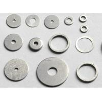 Quality Hot Dip Galvanized Metal Flat Washers , M6 Precision Flat Ring Gasket For Fasteners for sale