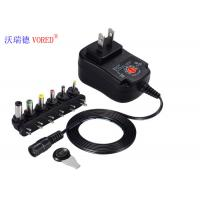 RoHS Approval Multiple Output Power Supply , 6 DC Jack Multi Voltage DC Adapter